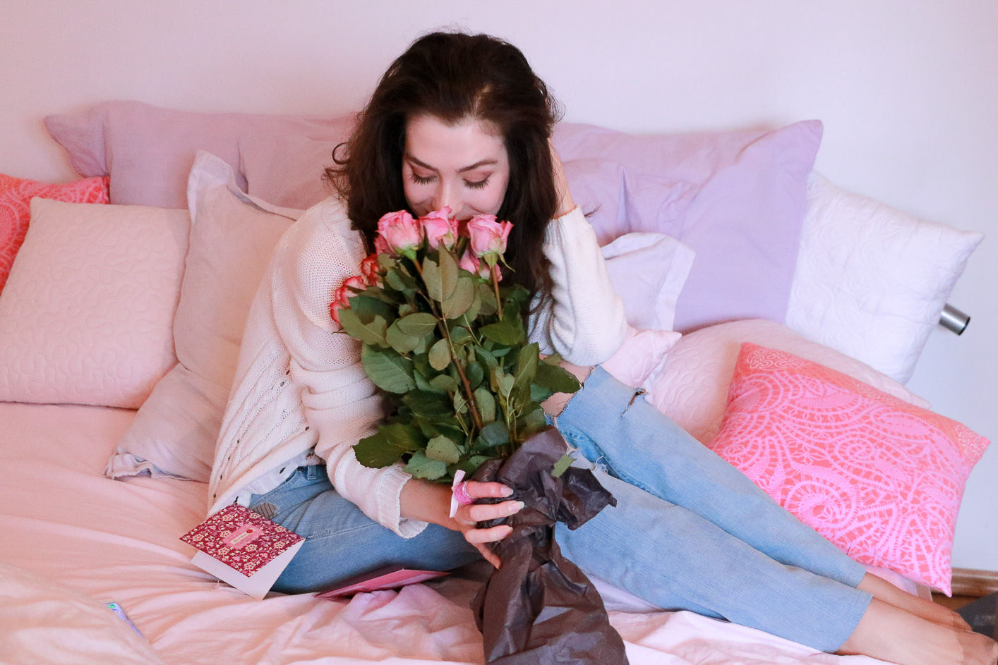 Fashion blogger Veronika Lipar of Brunette From Wall Street sharing best ideas on how to spend the Valentine's Day if you are single