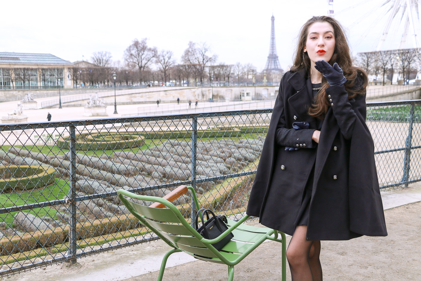 Fashion Blogger Veronika Lipar of Brunette from Wall Street sharing how to pull off the chic French Style