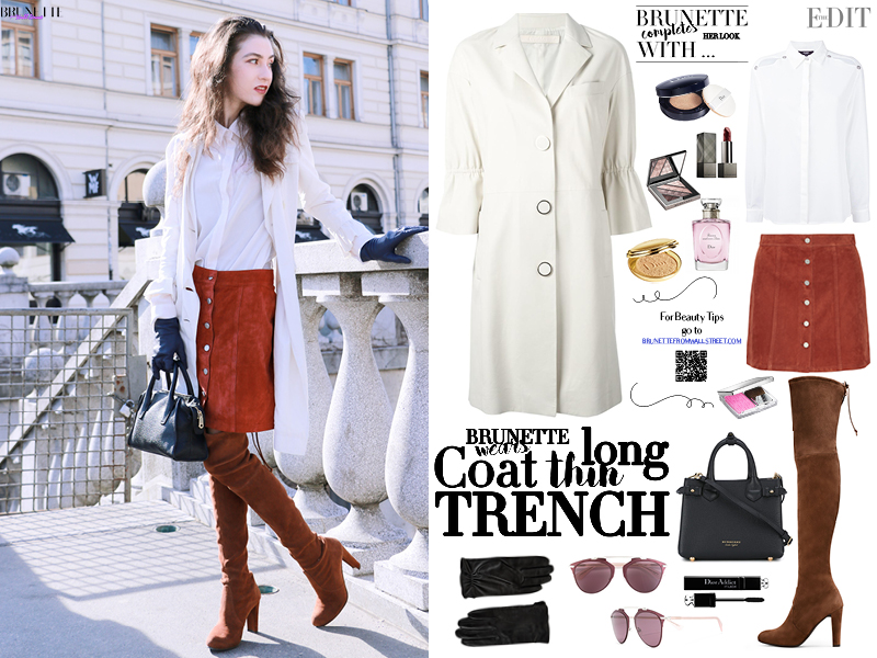 Fashion blogger Veronika Lipar of Brunette From Wall Street sharing her favourite outwear of the spring