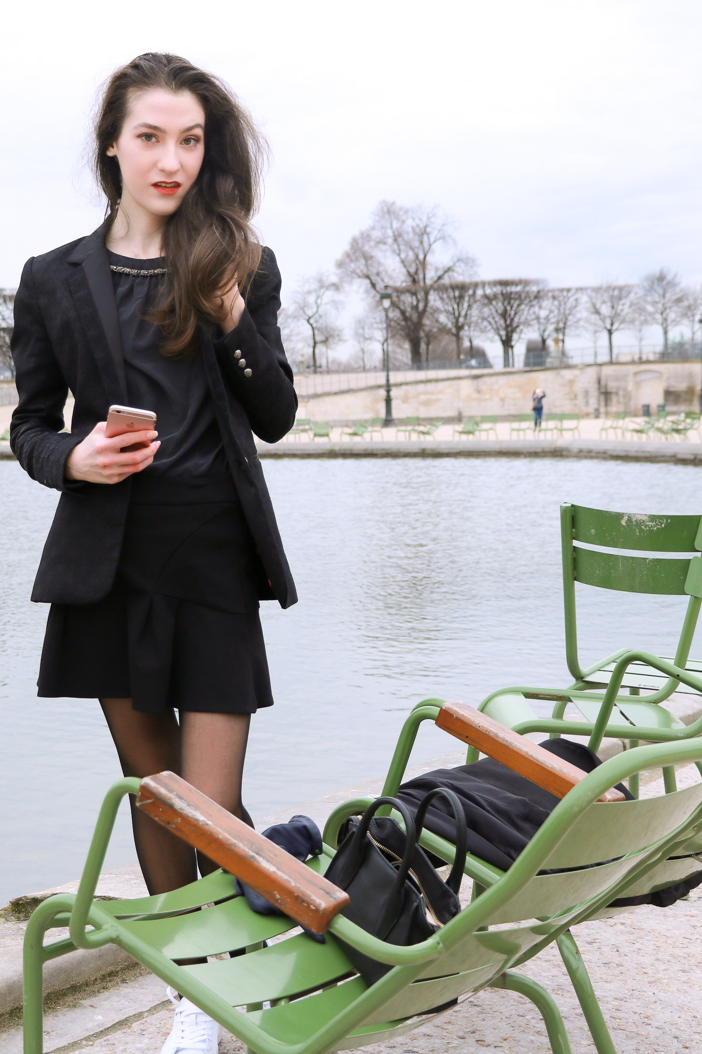Fashion Blogger Veronika Lipar of Brunette from Wall Street sharing how to dress as a Parisian