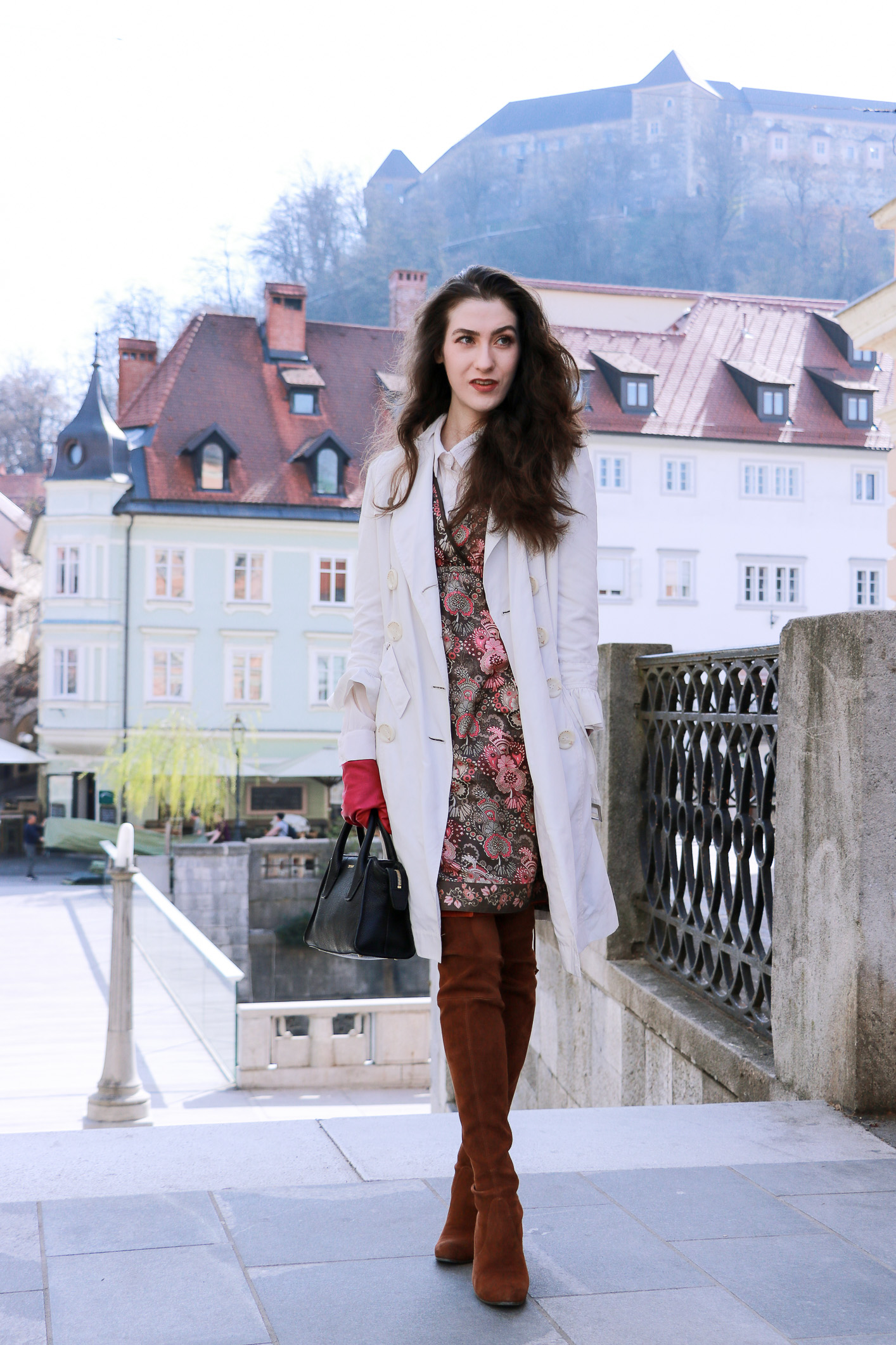 Fashion blogger Veronika Lipar of Brunette From Wall Street on what to wear ruffles this spring