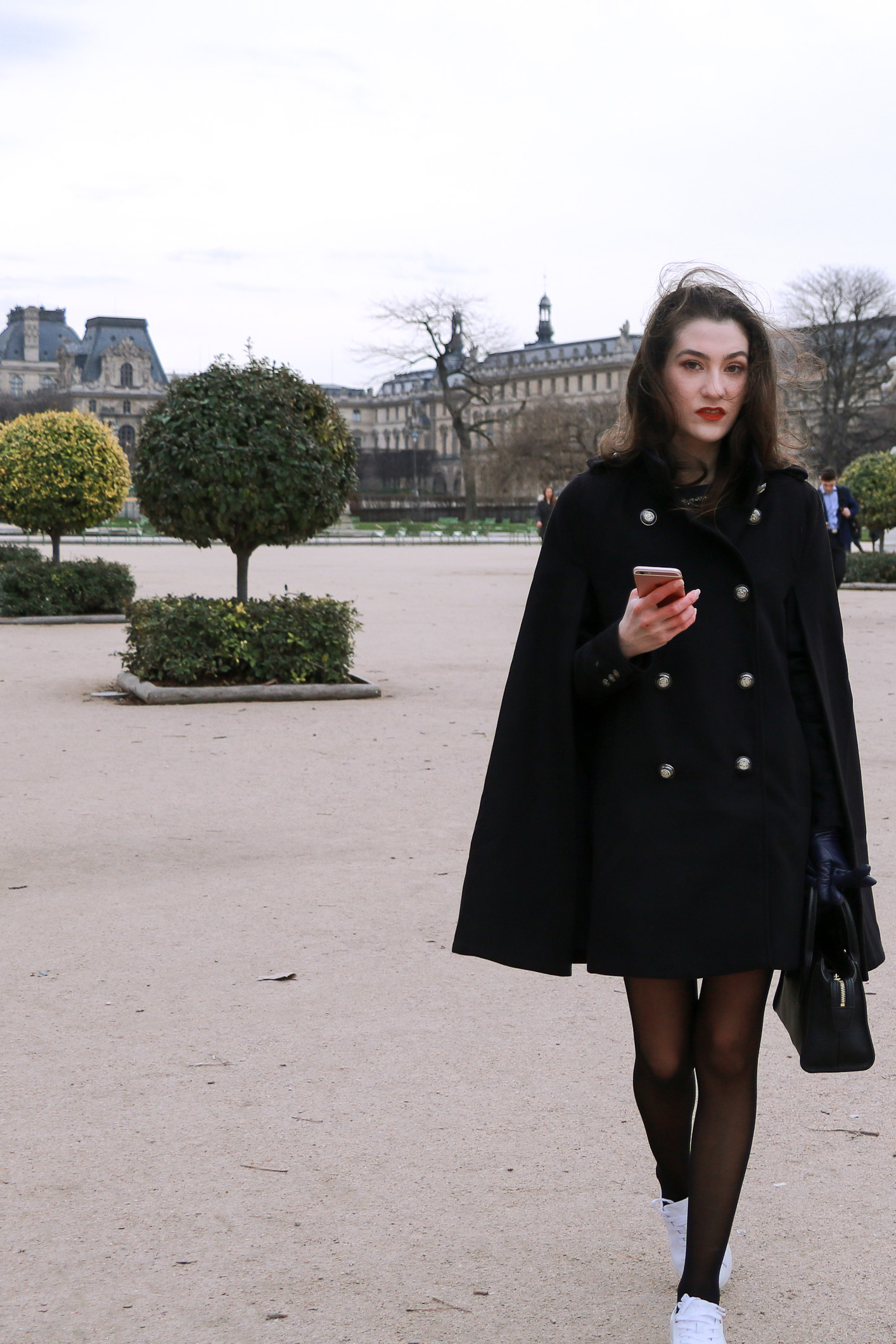 Fashion Blogger Veronika Lipar of Brunette from Wall Street sharing how to dress like a Parisian