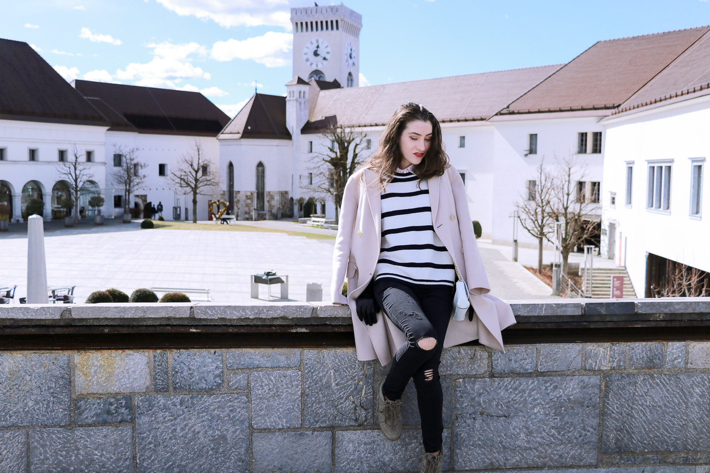 Fashion blogger Veronika Lipar of Brunette From Wall Street sharing how to be a stylish tourist
