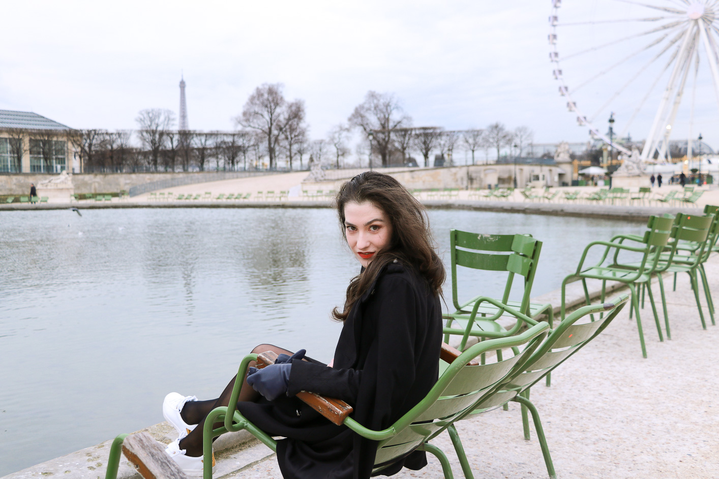 Fashion Blogger Veronika Lipar of Brunette from Wall Street sharing how to dress as a French