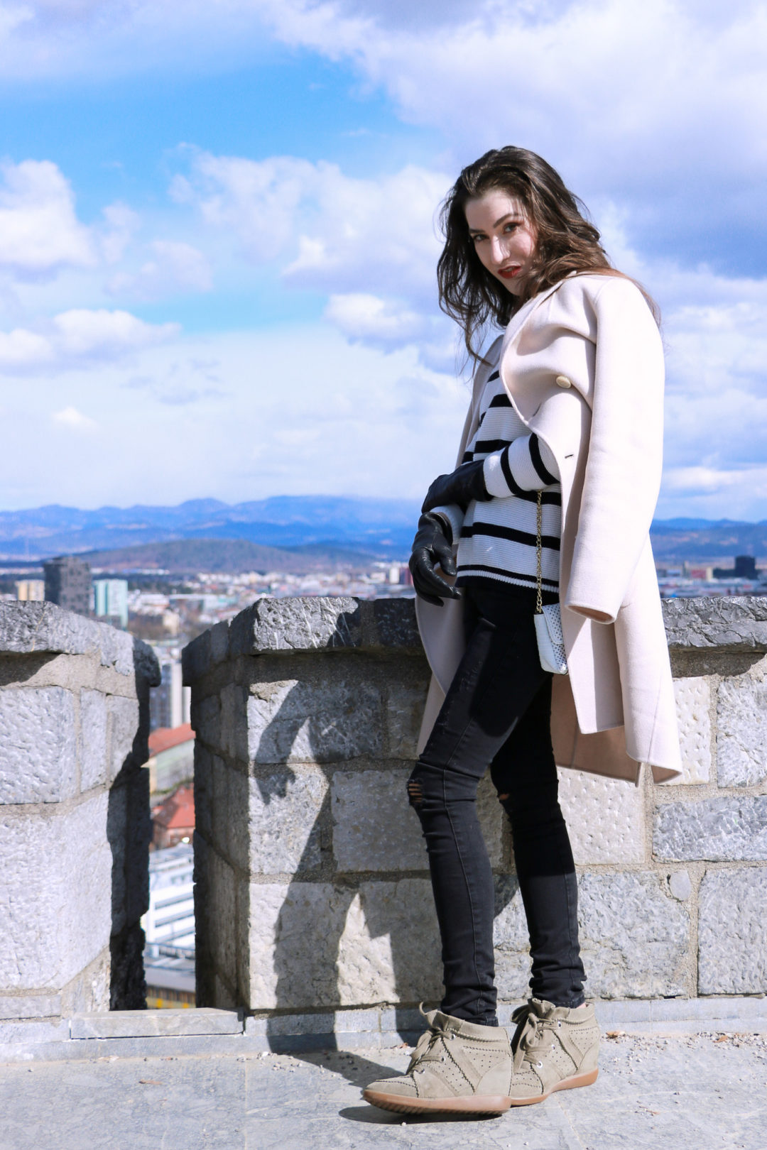 Fashion blogger Veronika Lipar of Brunette From Wall Street on what to pack for Easter City break this spring