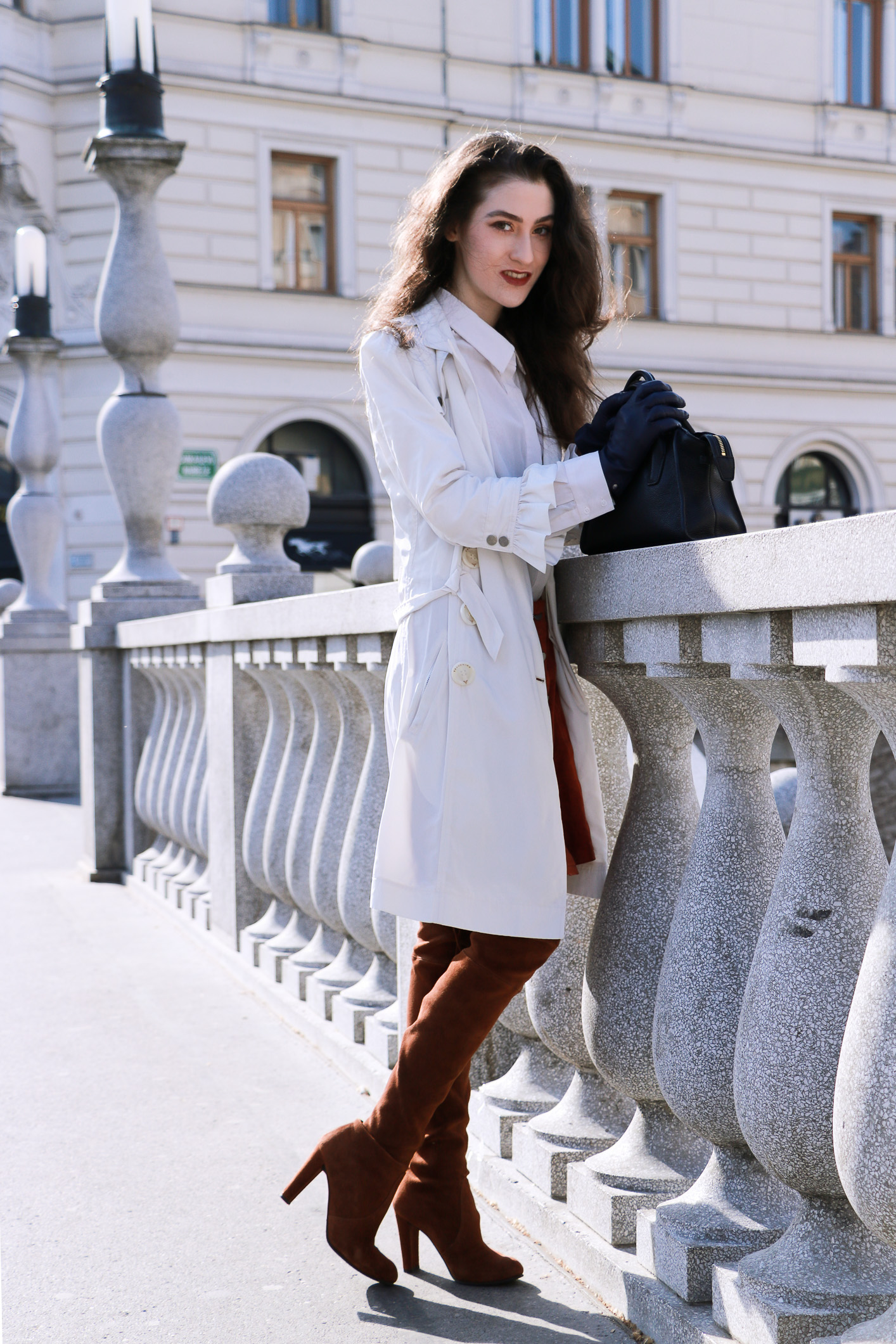 Fashion blogger Veronika Lipar of Brunette From Wall Street sharing best outwear of the spring