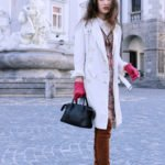 Fashion blogger Veronika Lipar of Brunette From Wall Street going to the Odprta Kuhna Open Kitchen in her Short Fashion Story