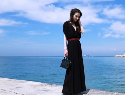 Fashion blogger Veronika Lipar of Brunette From Wall Street on what to wear to Venice Film Festival