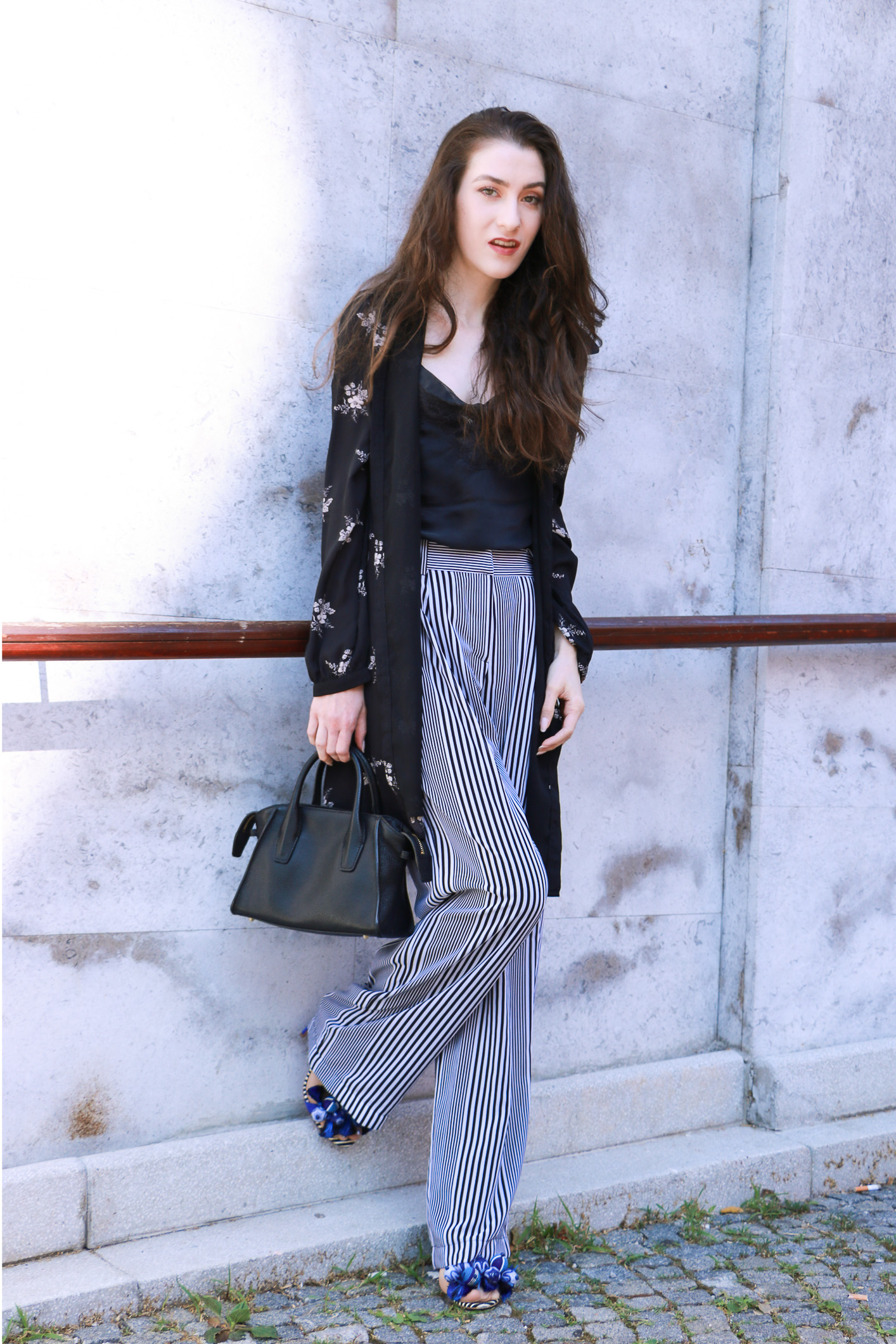how to wear long pants in summer
