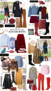 Fashion Blogger Veronika Lipar of Brunette from Wall Street on how to wear slouchy boots in 2017