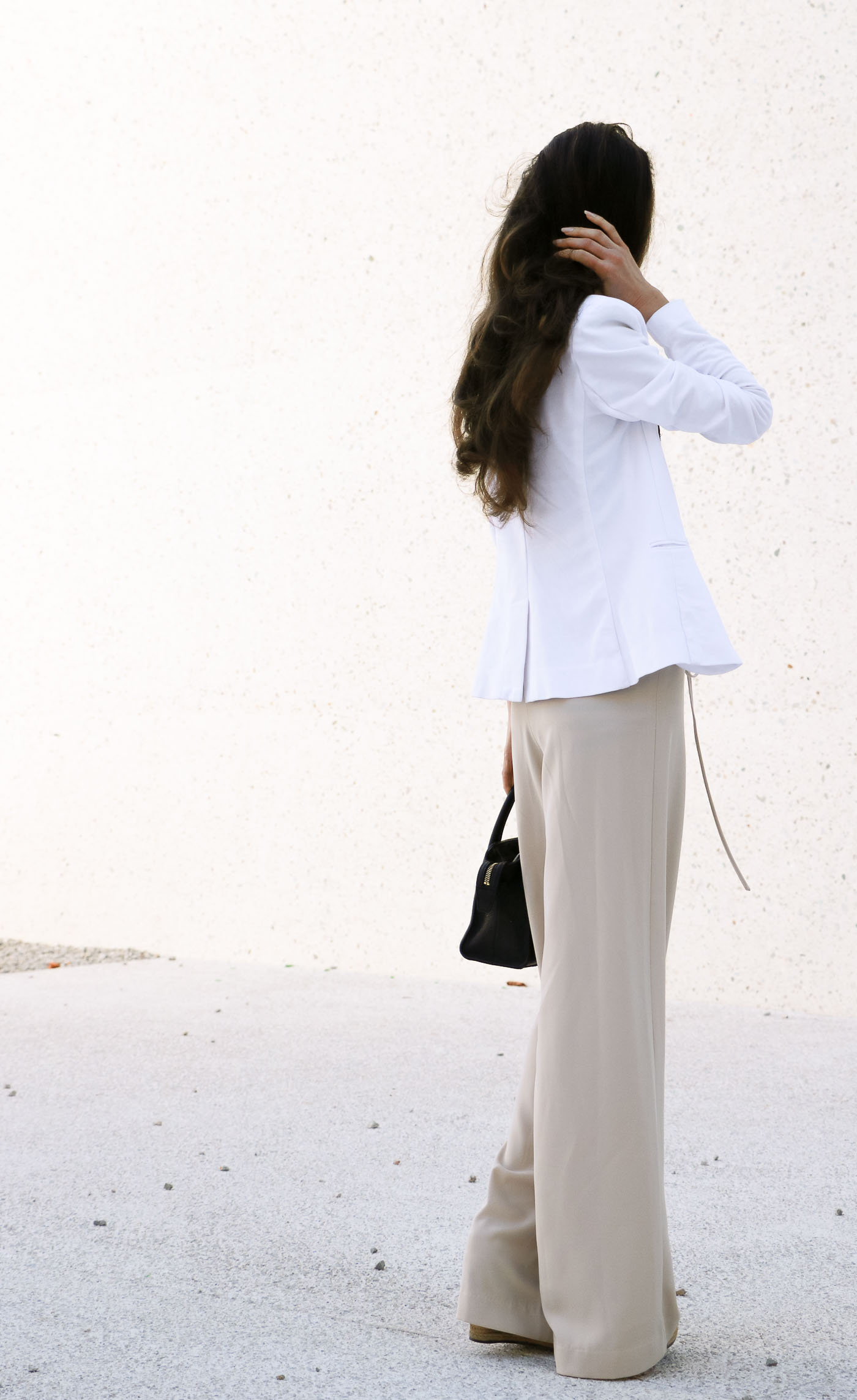 Fashion Blogger Veronika Lipar of Brunette from Wall Street on how to update summer look for fall