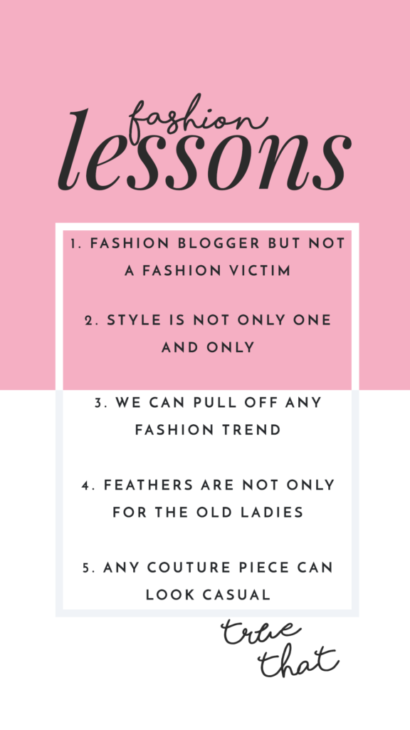 Fashion truth every fashionista should know
