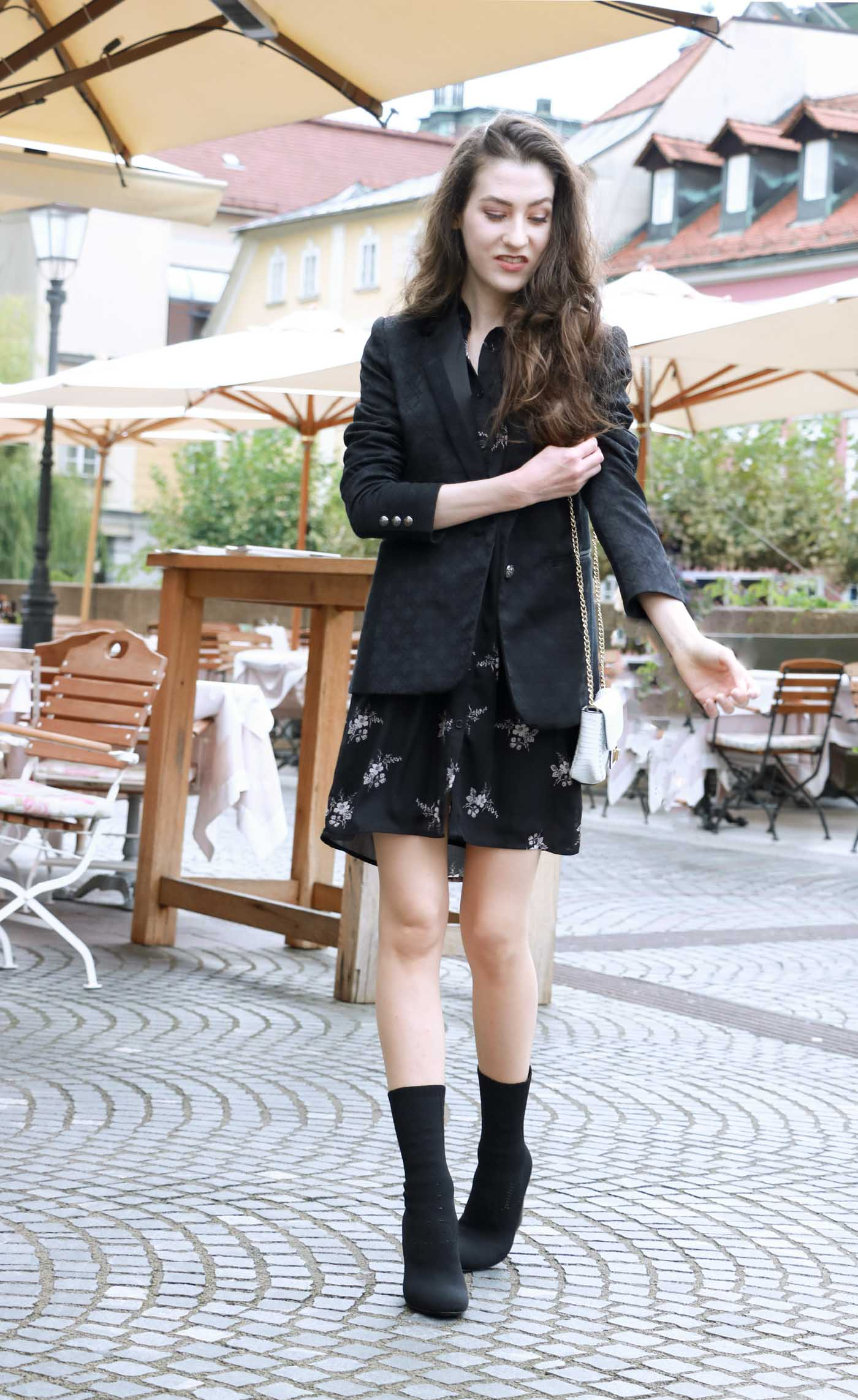 Fashion Blogger Veronika Lipar of Brunette from Wall on what to wear on Friday