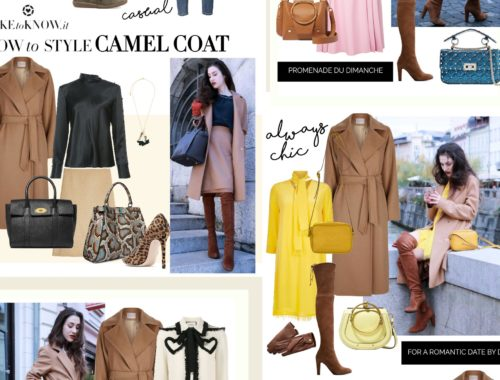 Fashion Blogger Veronika Lipar of Brunette from Wall Street sharing 6 wrap wool camel coat winter outfits