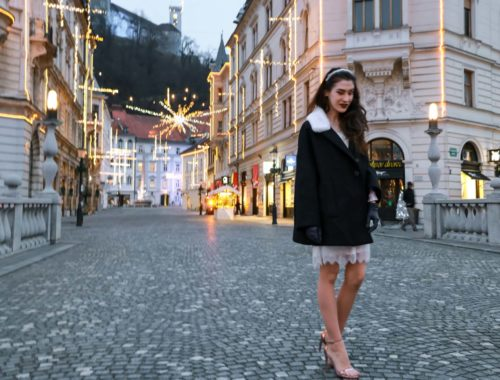 Fashion Blogger Veronika Lipar of Brunette from Wall Street on what to do if you don't have a party dress yet