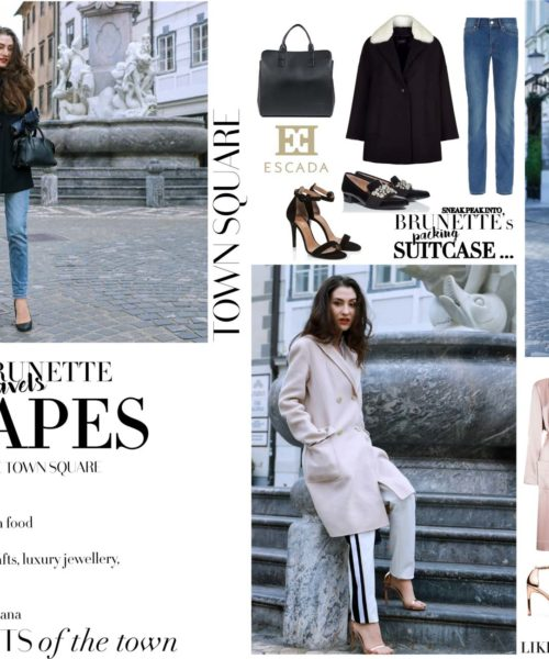 Fashion Blogger Veronika Lipar of Brunette from Wall Street on what to wear for city escape in winter