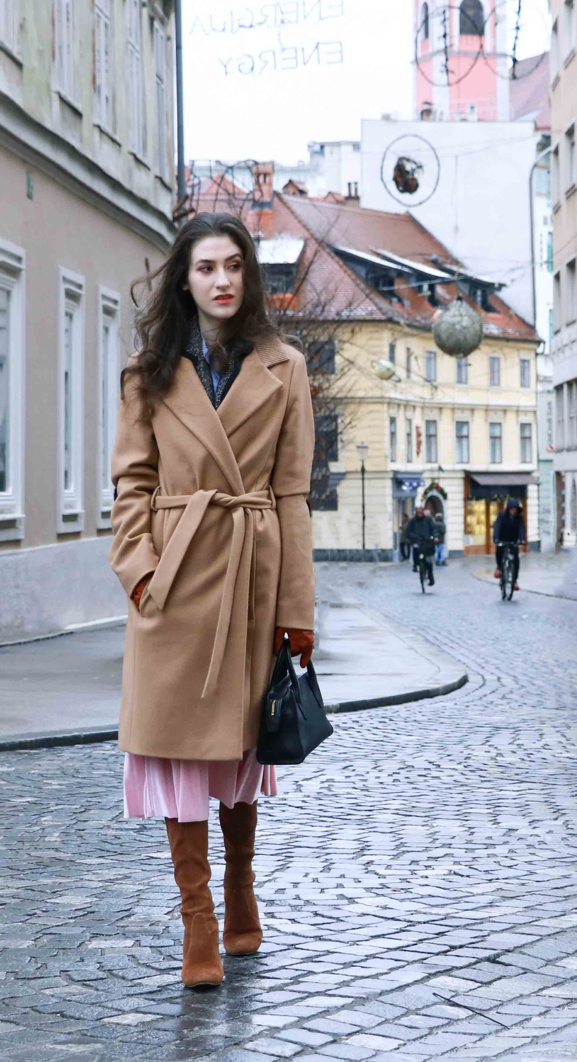 Fashion Blogger Veronika Lipar of Brunette from Wall Street on what to wear this Holiday season