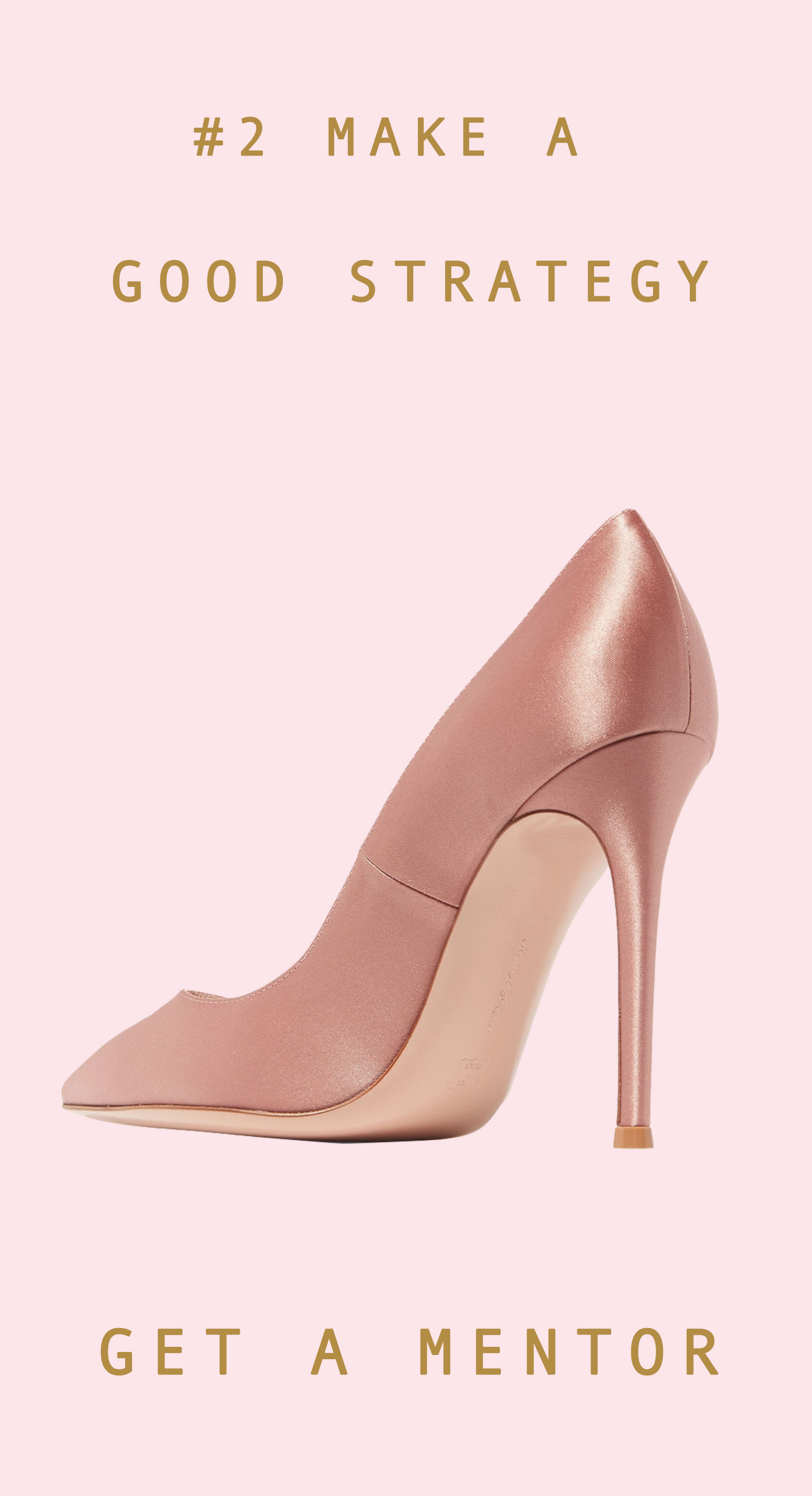 Jimmy Choo satin rose gold pumps