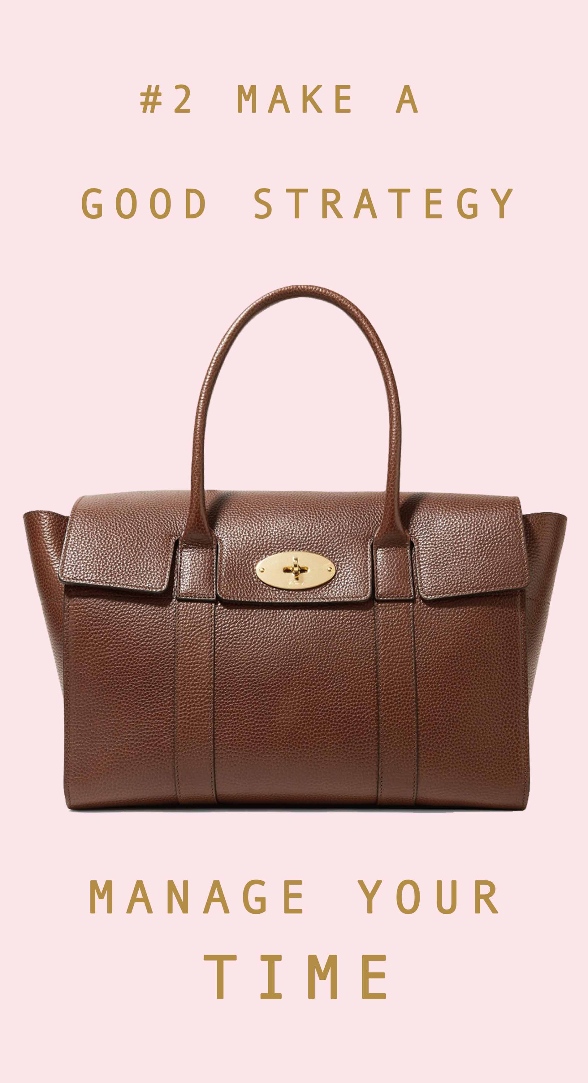 Mulberry brown tote