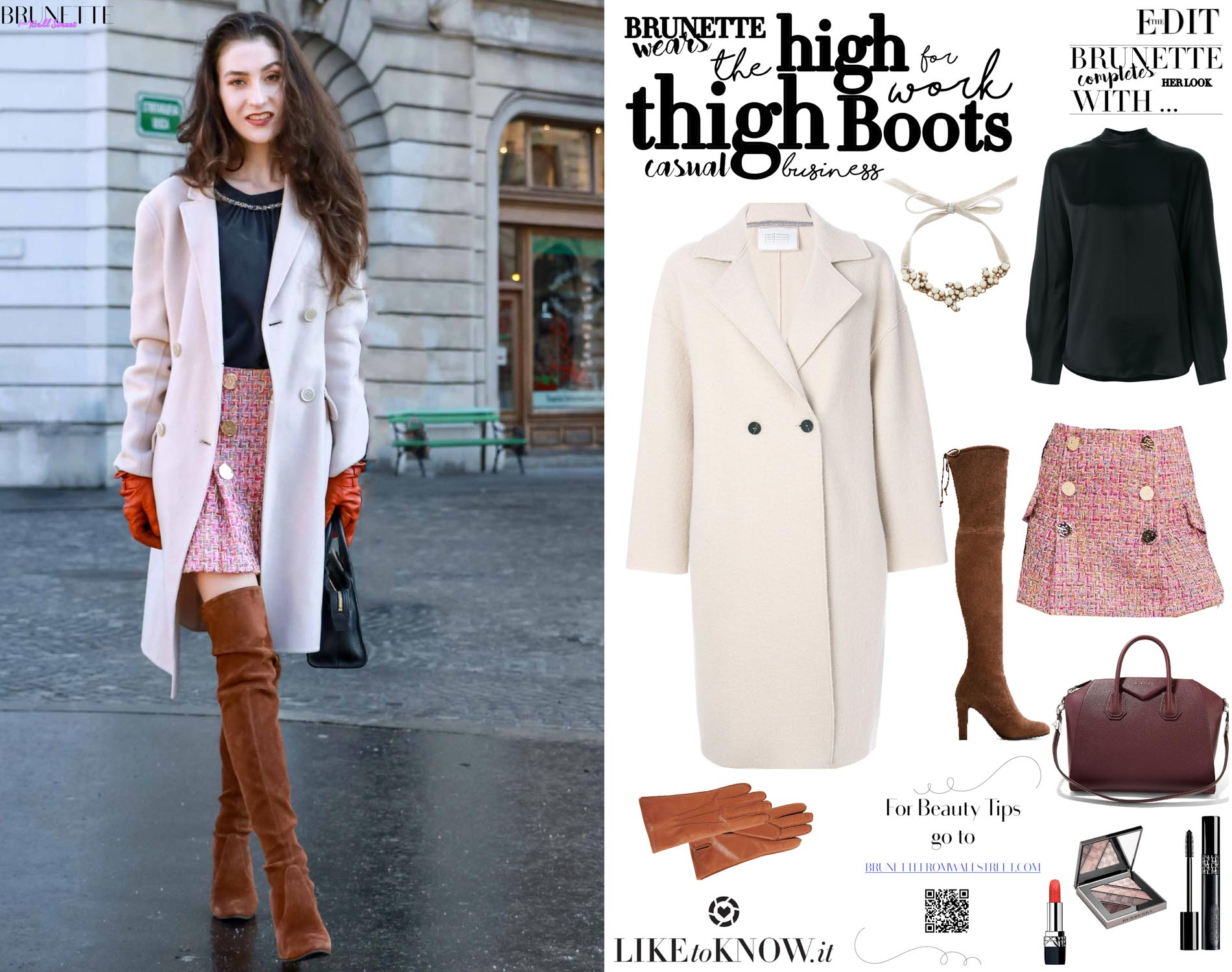 cf673d4aca5 How to wear over the knee boots for work