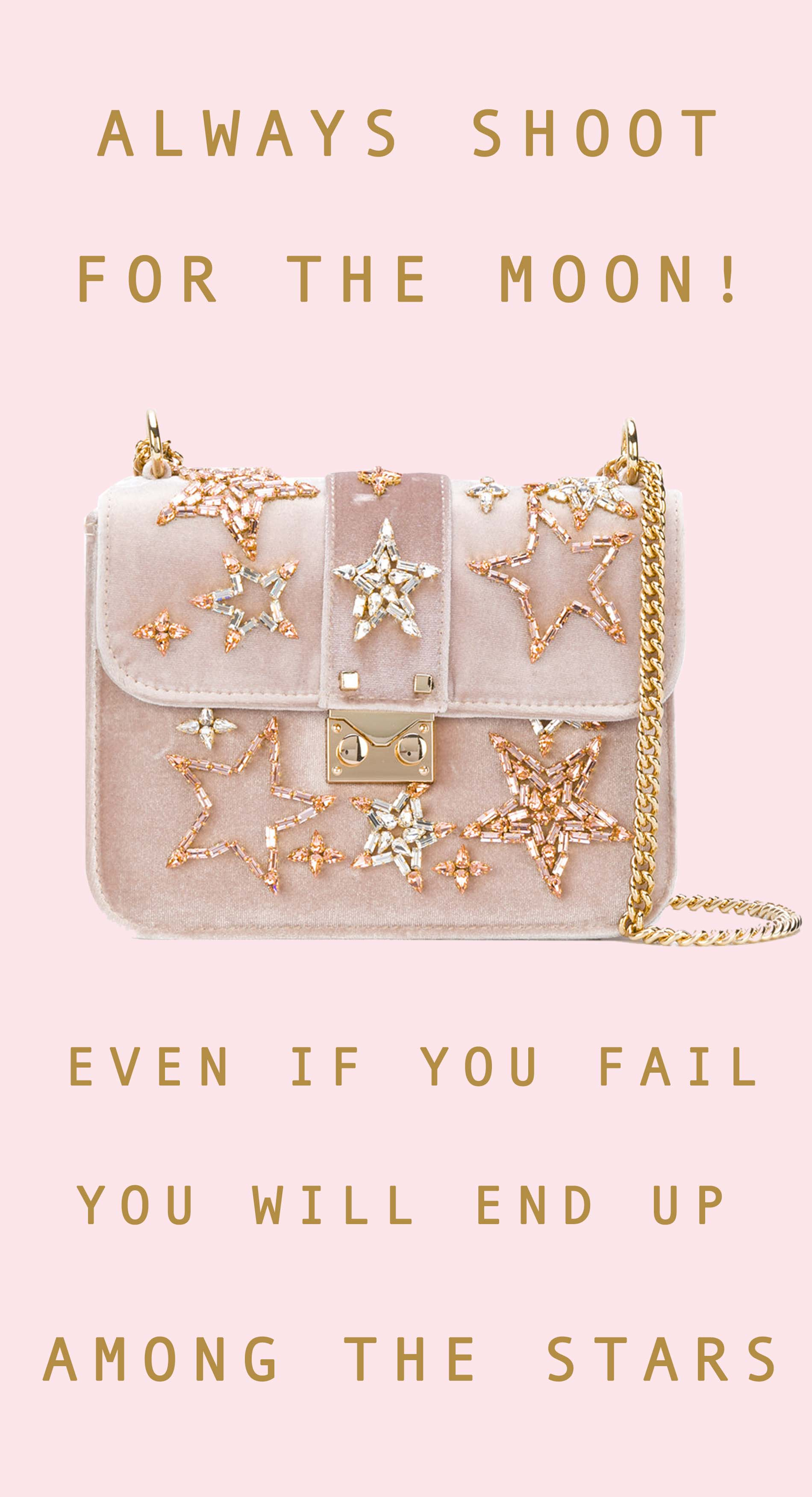 Live Gold Quotes Beauteous Pink And Gold Quotes And Pink Bags  Brunette From Wall Street