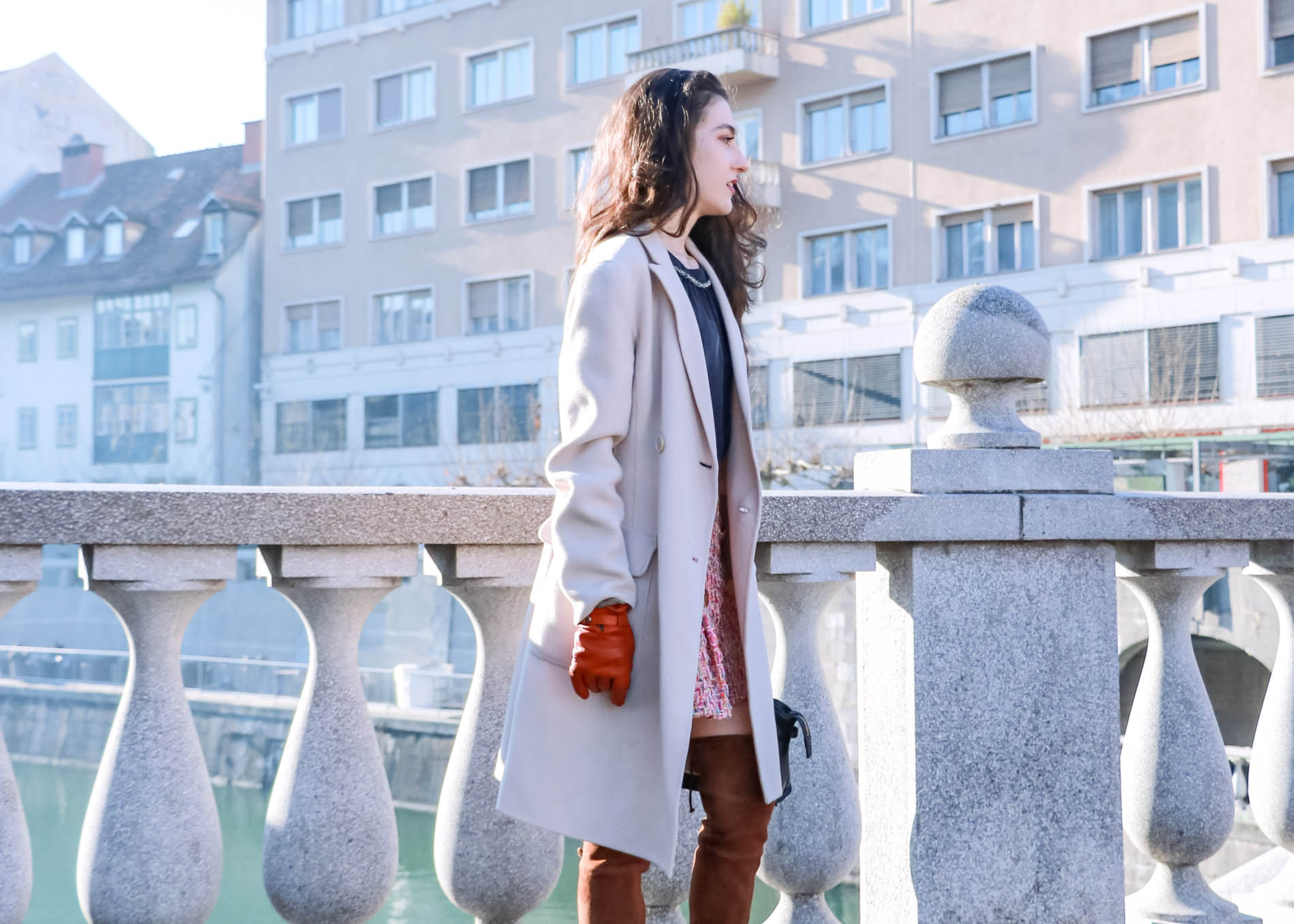 Fashion Blogger Veronika Lipar of Brunette from Wall Street sharing how to make New Year's resolutions come true