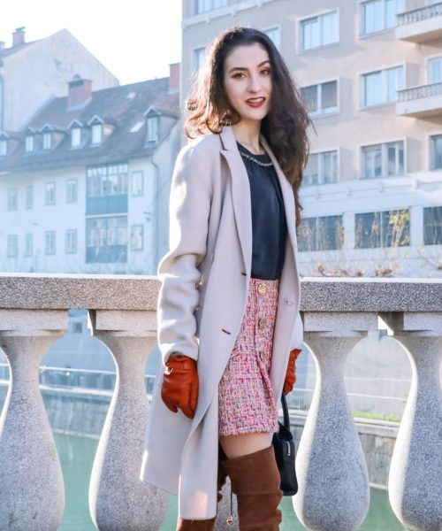 Fashion Blogger Veronika Lipar of Brunette from Wall Street sharing how to stick to the New Year's resolutions