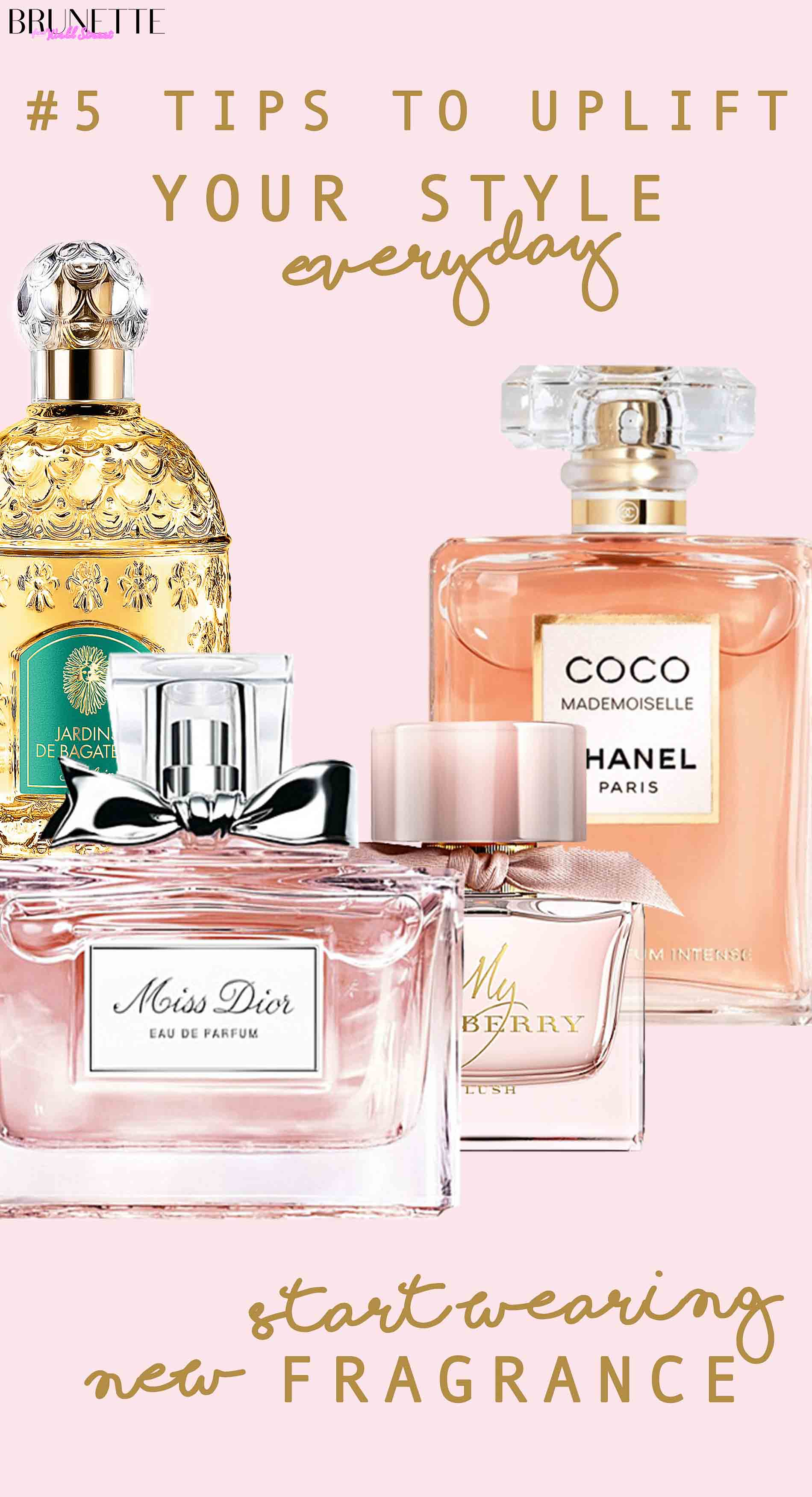 2018 best Spring Perfumes with text overlay #5 Things that will instantly uplift your everyday style fragrance