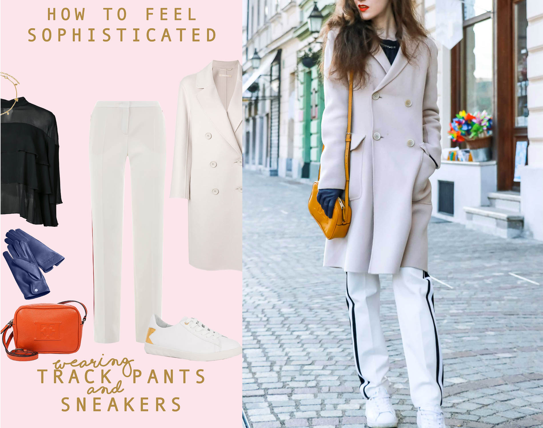 How to Feel Sophisticated in Track Pants and Sneakers