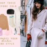 Fashion Blogger Veronika Lipar of Brunette from Wall Street sharing what to wear for cold