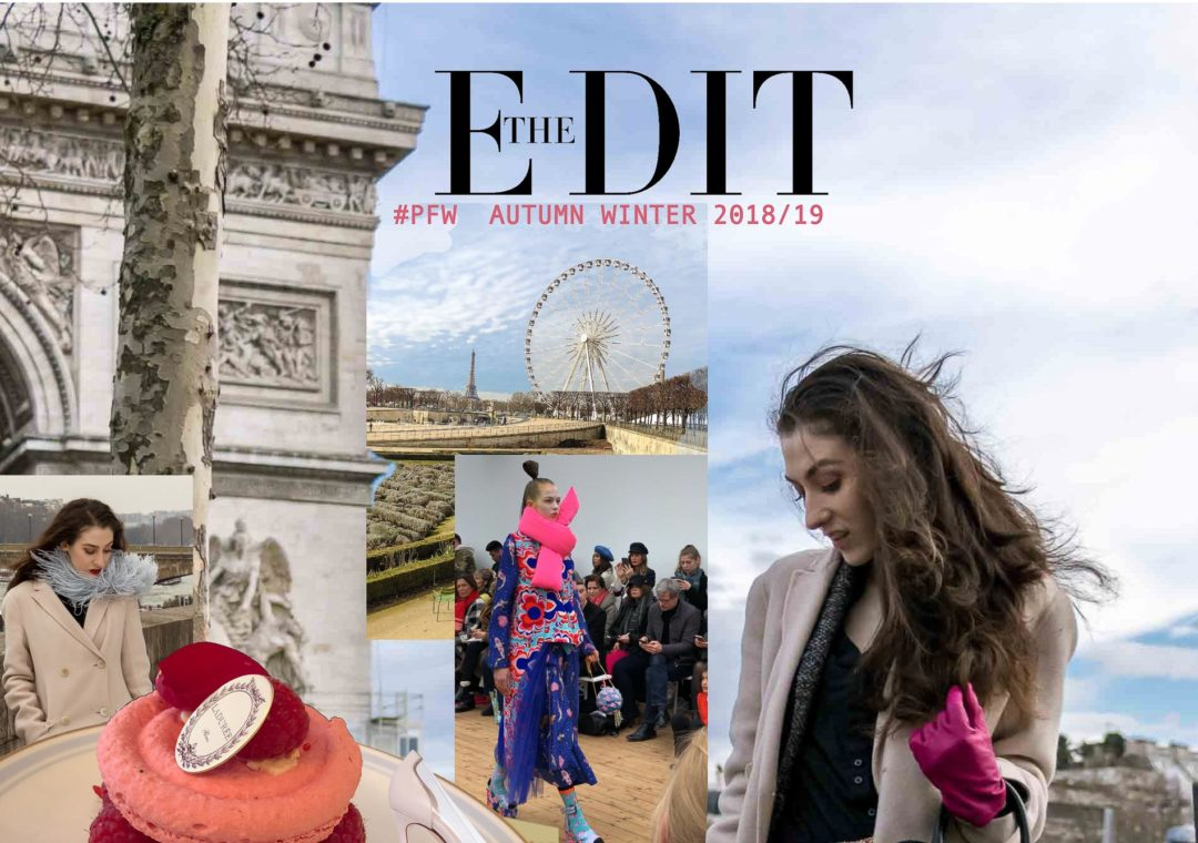 Fashion Blogger Veronika Lipar of Brunette from Wall Street writing about the latest fashion trends from Paris fashion week autumn winter 2018/19
