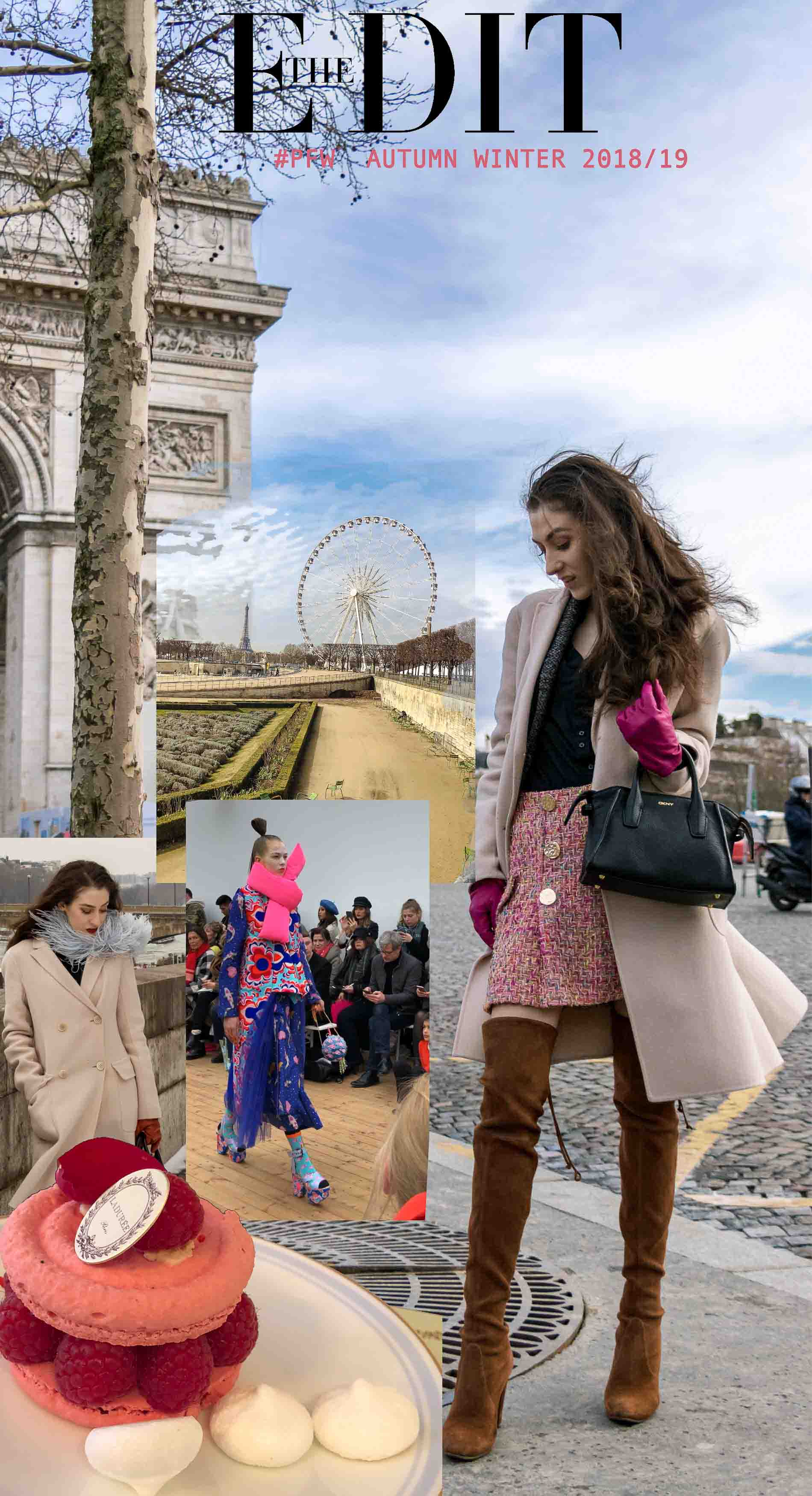 Fashion Blogger Veronika Lipar of Brunette from Wall Street writing about the latest fashion trends from autumn winter 2018/19 Paris fashion week