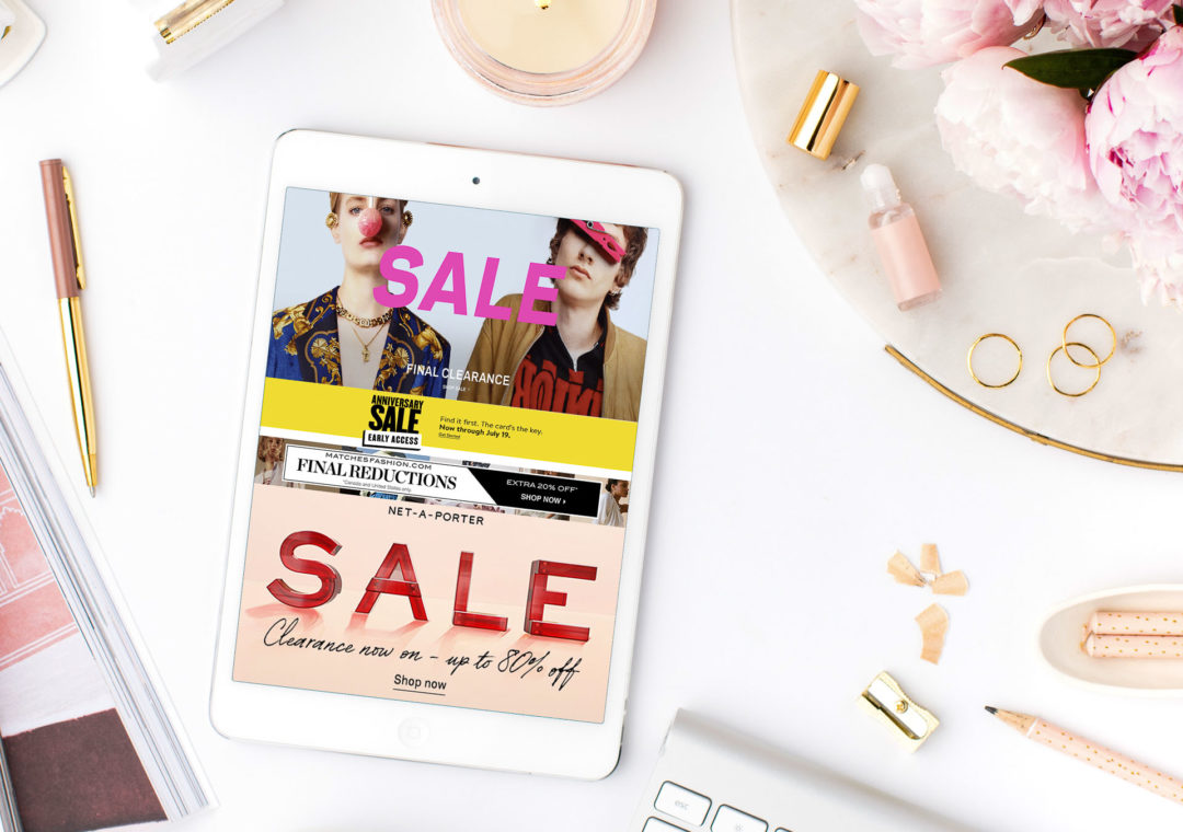 Fashion Blogger Veronika Lipar of Brunette from Wall Street sharing what to shop from final sale