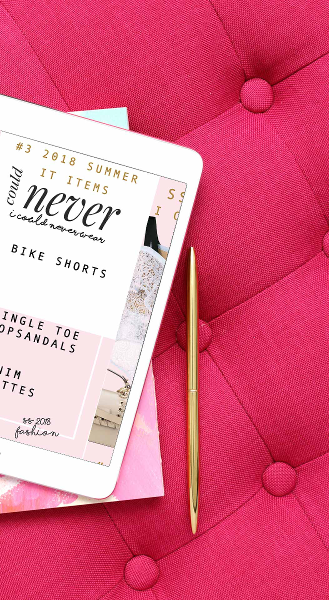 Fashion Blogger Veronika Lipar of Brunette from Wall Street sharing list of IT summer 2018 things she could never wear