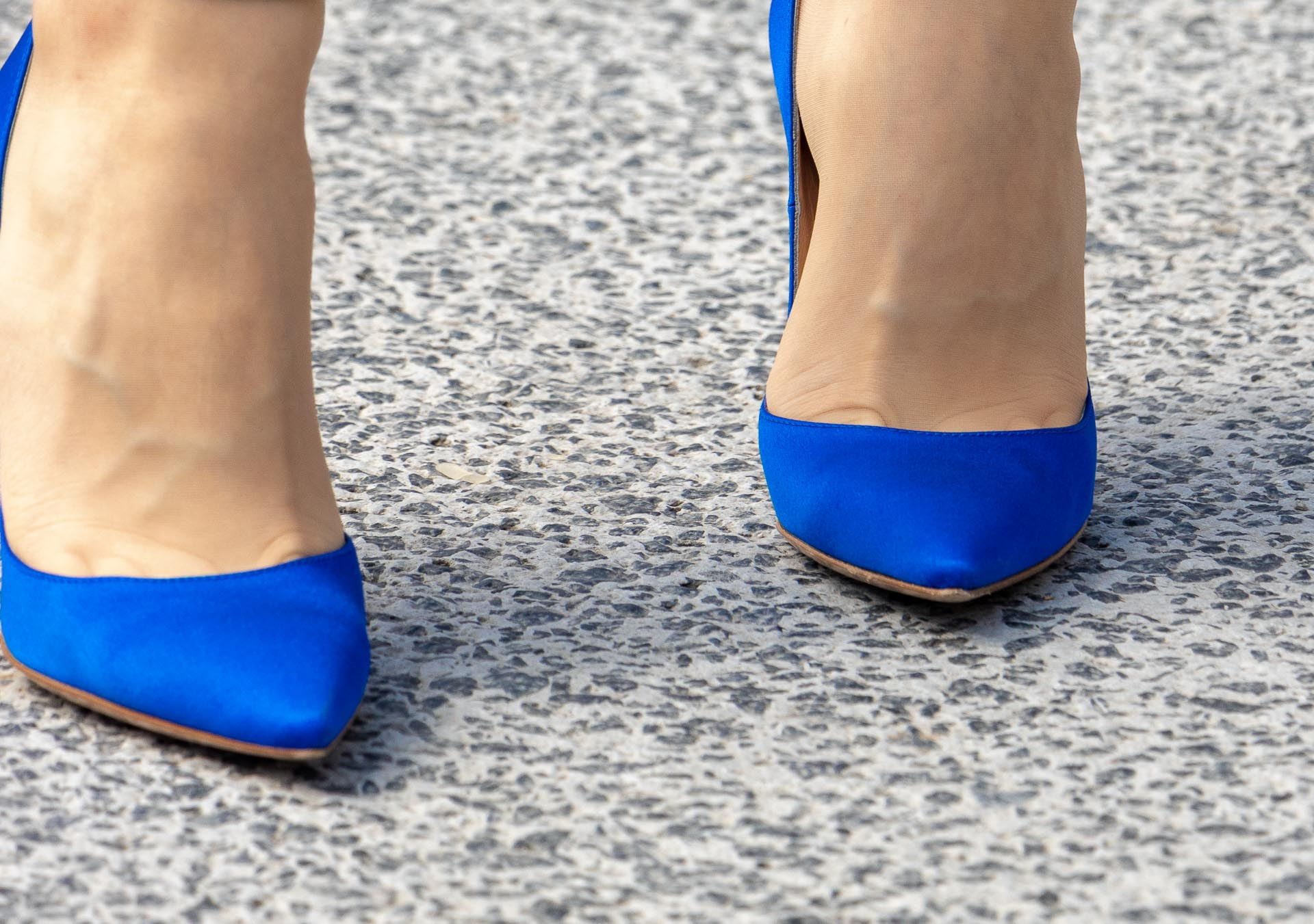 Gianvito Rossi blue shoes