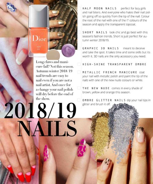 nail trends winter 2018