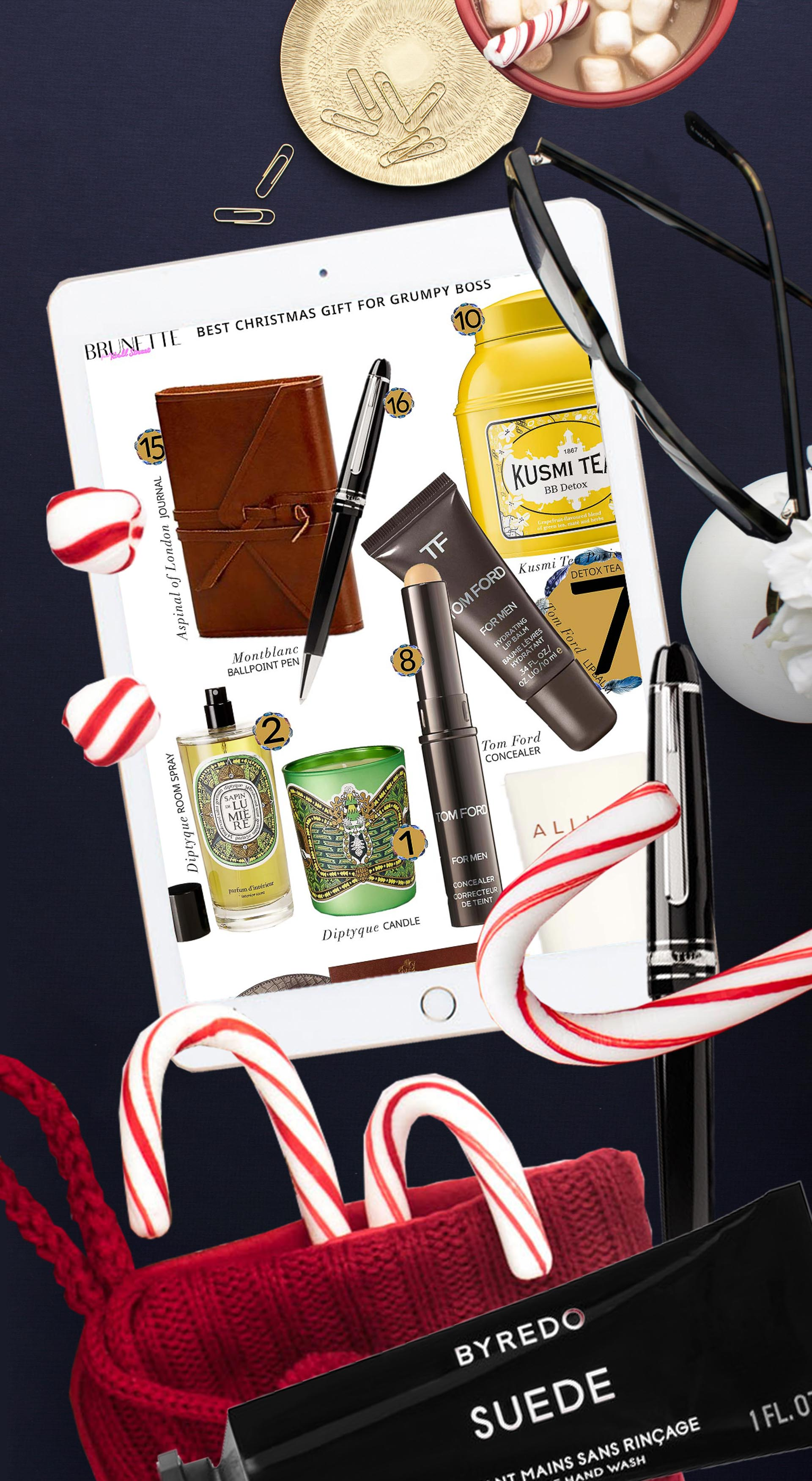 Brunette from Wall Street the best 2019 Christmas gifts for boss