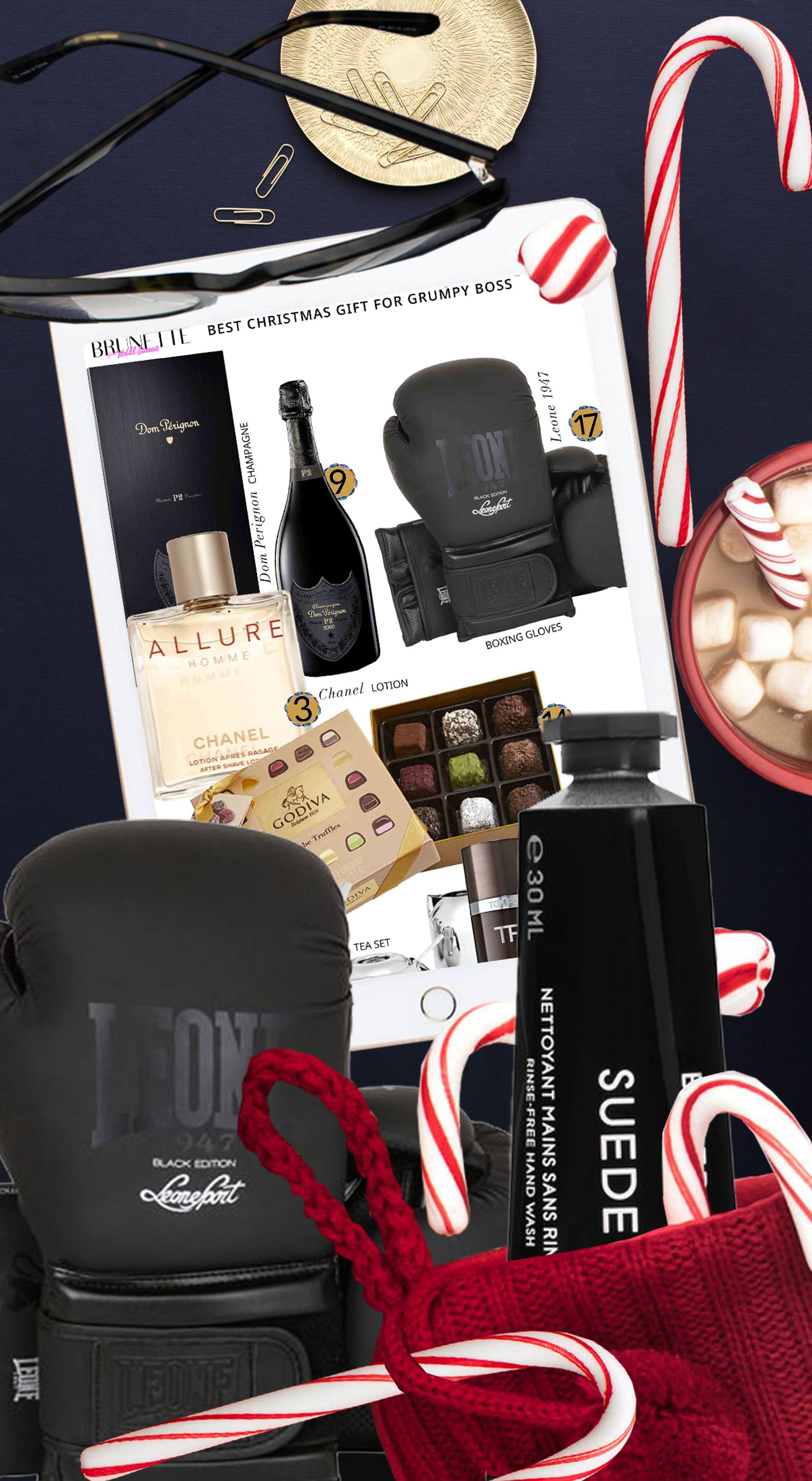 Brunette from Wall Street the best 2020 Christmas gifts for grumpy boss