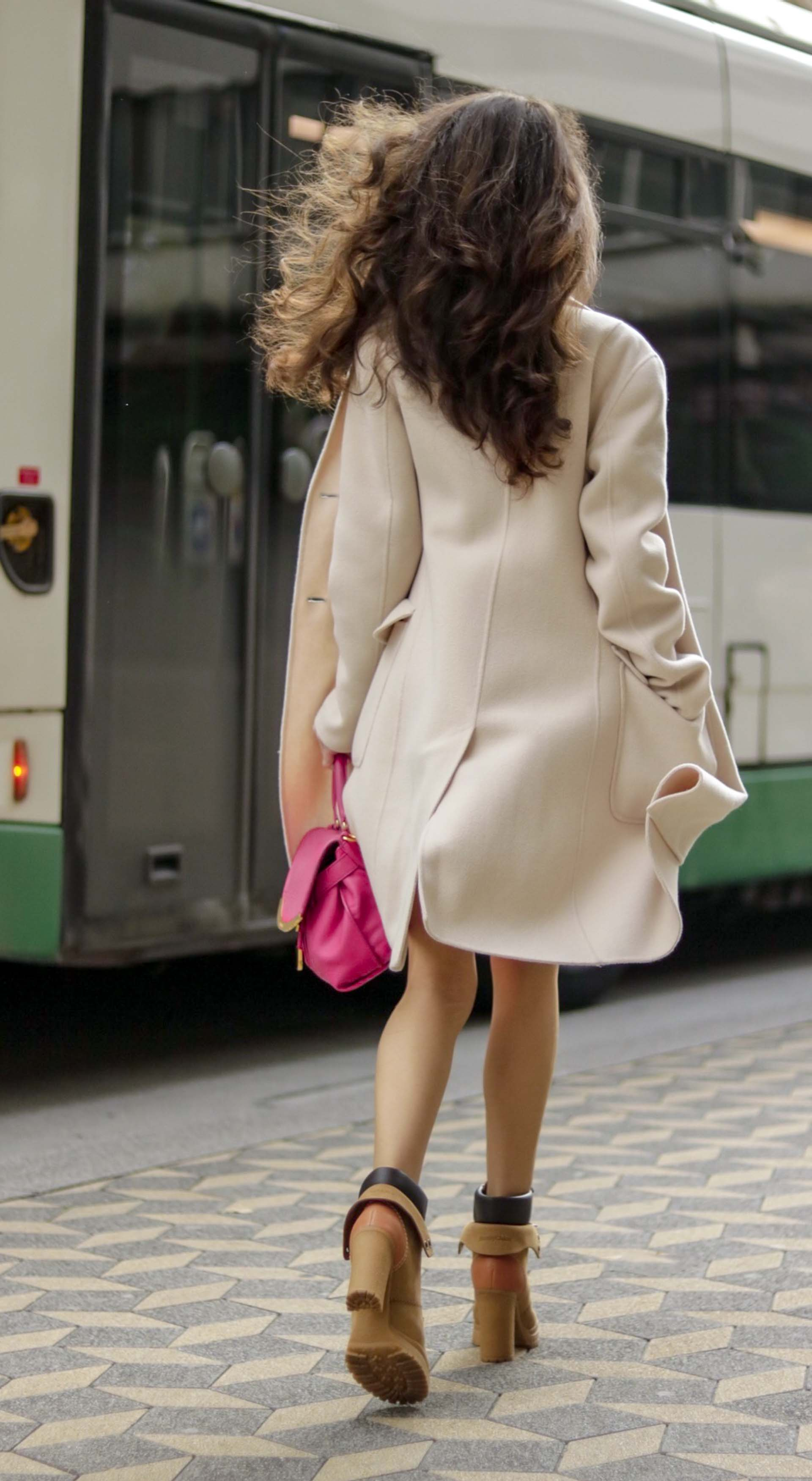aff9ddb6c28 Most read Slovenian Fashion Blogger Veronika Lipar of Brunette from Wall  Street wearing See By Chloé
