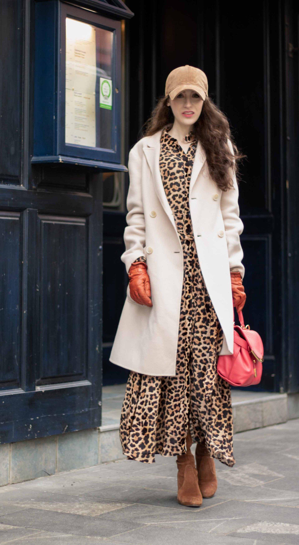 231cdededce Must follow Slovenian Fashion Blogger Veronika Lipar of Brunette from Wall  Street dressed in brown Rag