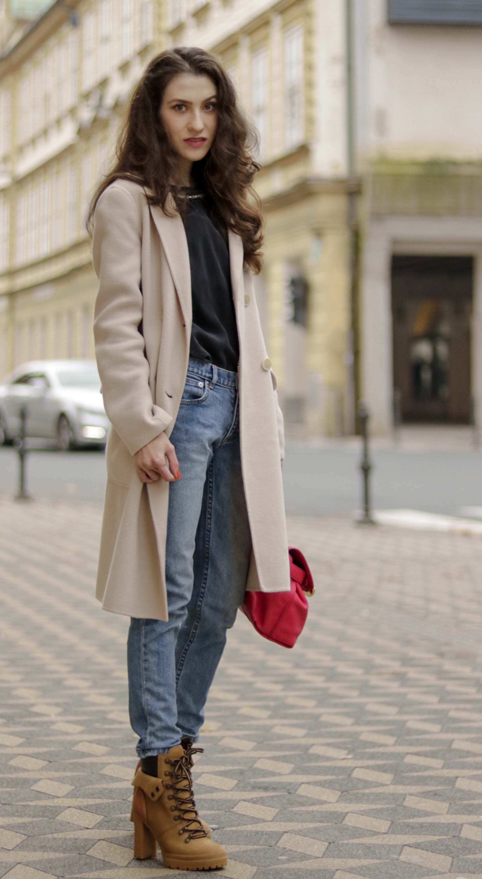 9ee33335f08 ... Must follow Slovenian Fashion Blogger Veronika Lipar of Brunette from Wall  Street dressed in See By