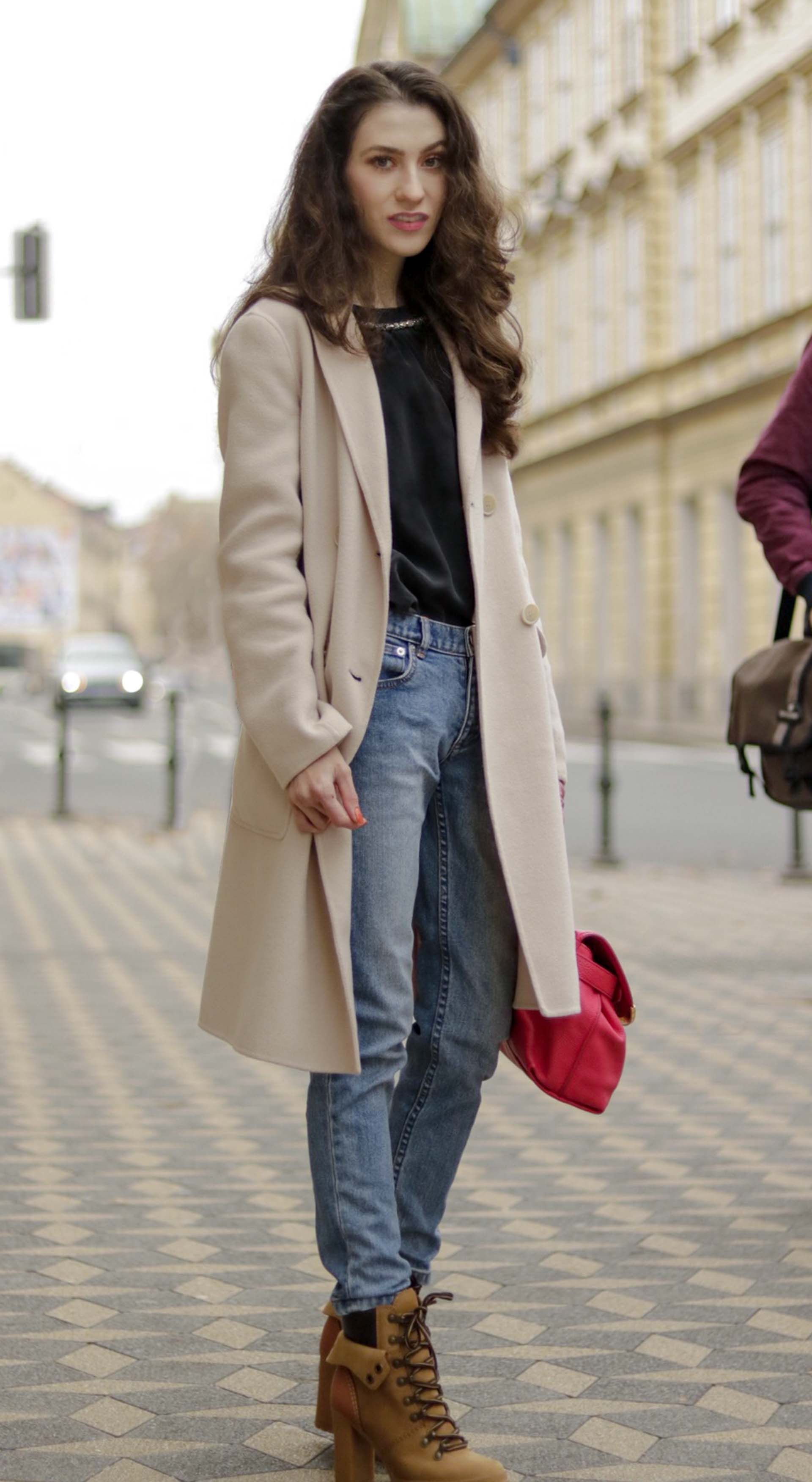 e28b5f81b2 Must follow Slovenian Fashion Blogger Veronika Lipar of Brunette from Wall  Street dressed in See By