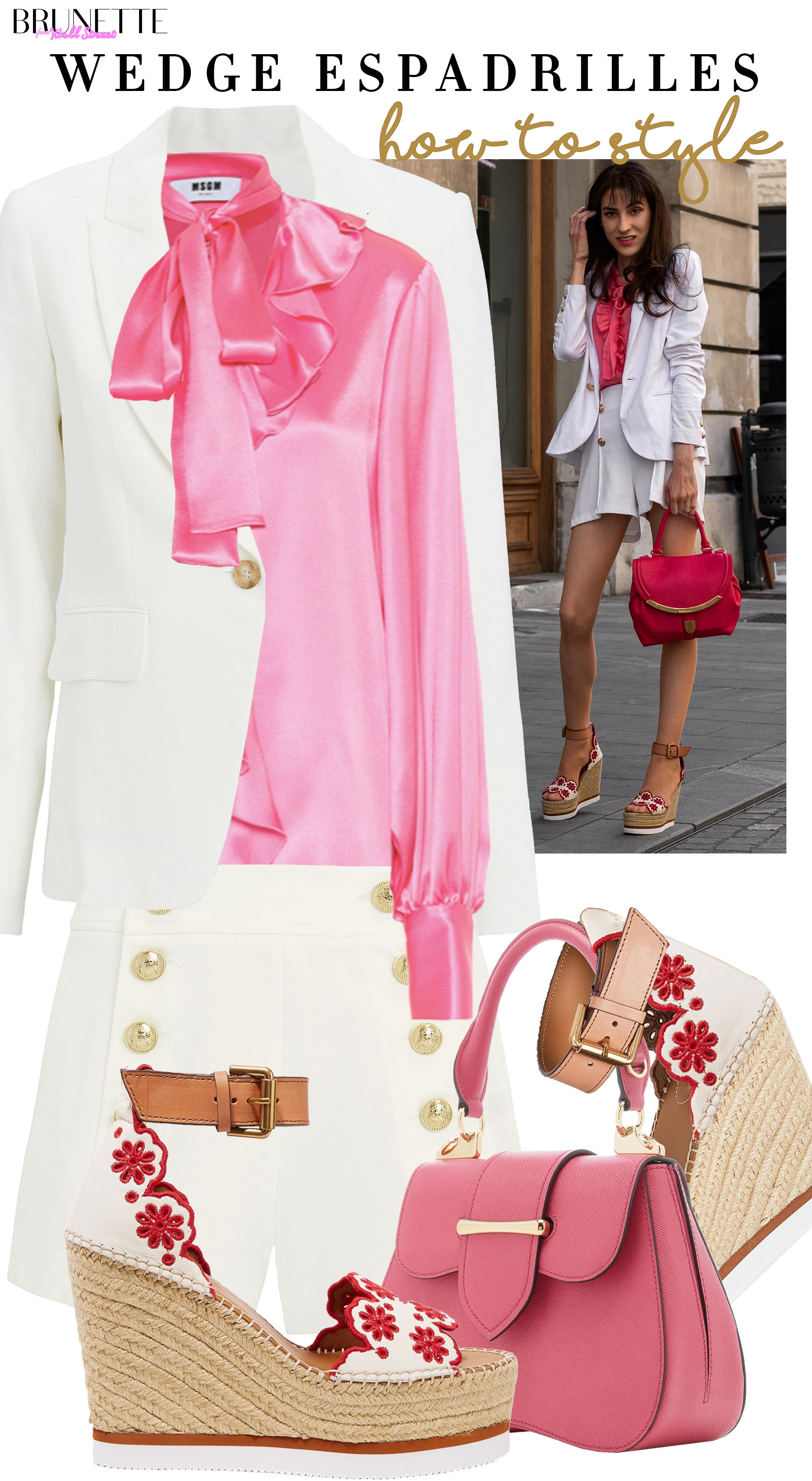 Brunette from Wall Street Veronika Lipar How to Style Short suit