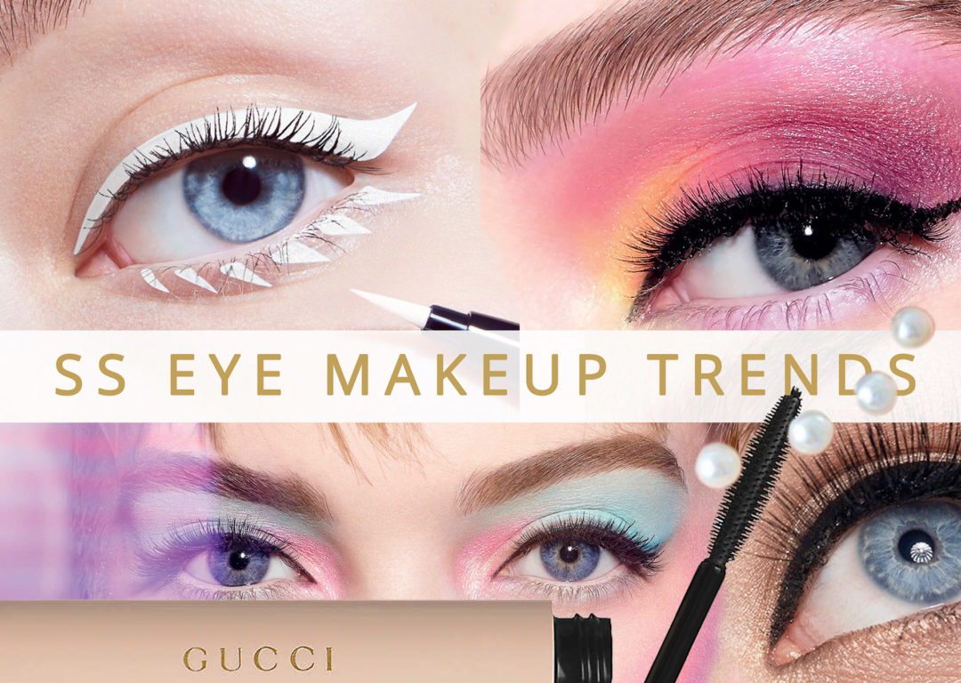 Brunette from Wall Street Spring Summer 2020 eye makeup trends eye makeup looks